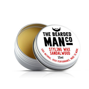 The Bearded Man Company Moustache Wax - stocking fillers under £15