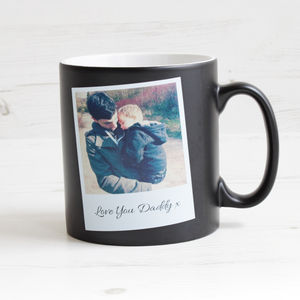 Personalised Photo Mug With Message - mugs
