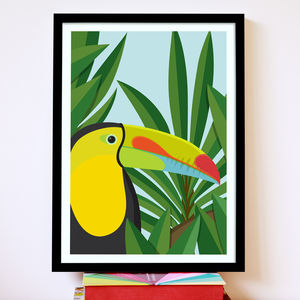 Toucan Bird Print - contemporary art