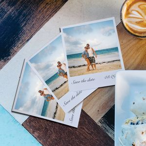 Personalised 'Save The Date' Photo Cards