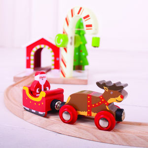 Santa Train And Track - personalised