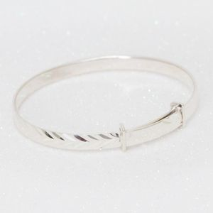 Erin Children's Sterling Silver Adjustable Bracelet - jewellery gifts for children