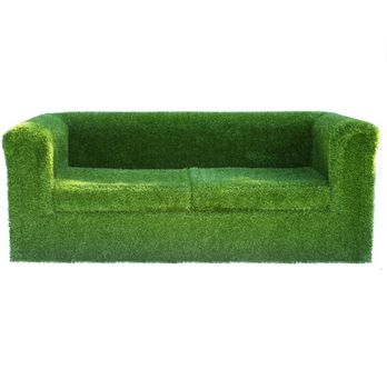 Artificial Grass Garden Sofa