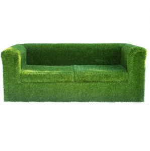 Artificial Grass Garden Sofa - garden furniture