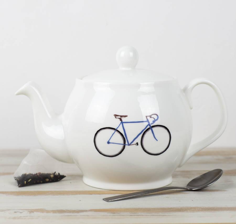 Bike Teapot