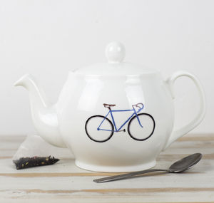 Bike Teapot - new home essentials