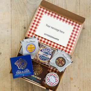 Afternoon Tea Letter Box Hamper With British Grown Tea - as seen in the press
