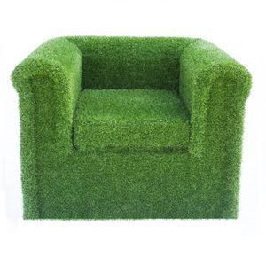 Artificial Grass Arm Chair - furniture
