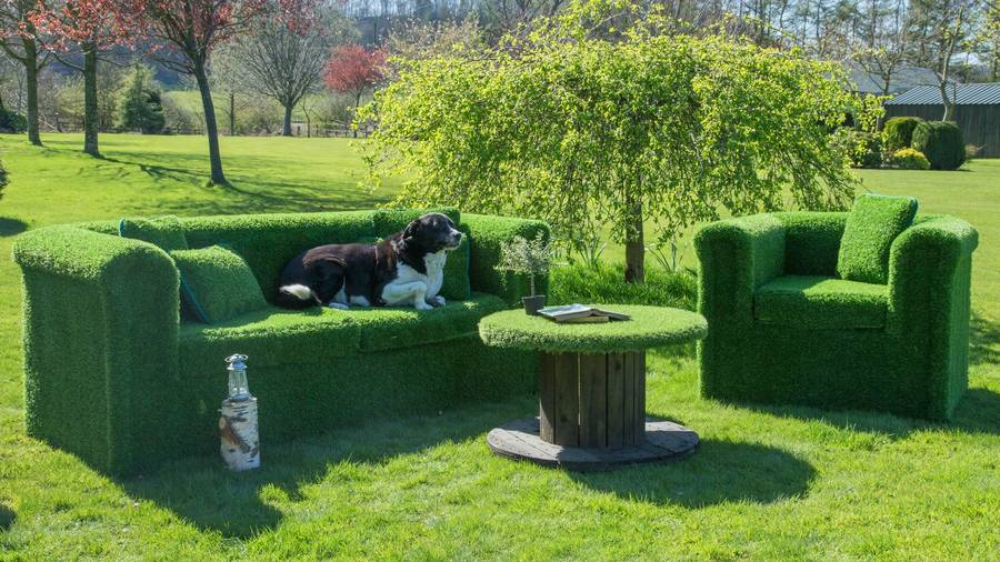 Artificial Grass Arm Chair By Artificial Landscapes
