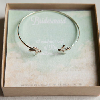 Swooping Swallows Bangle