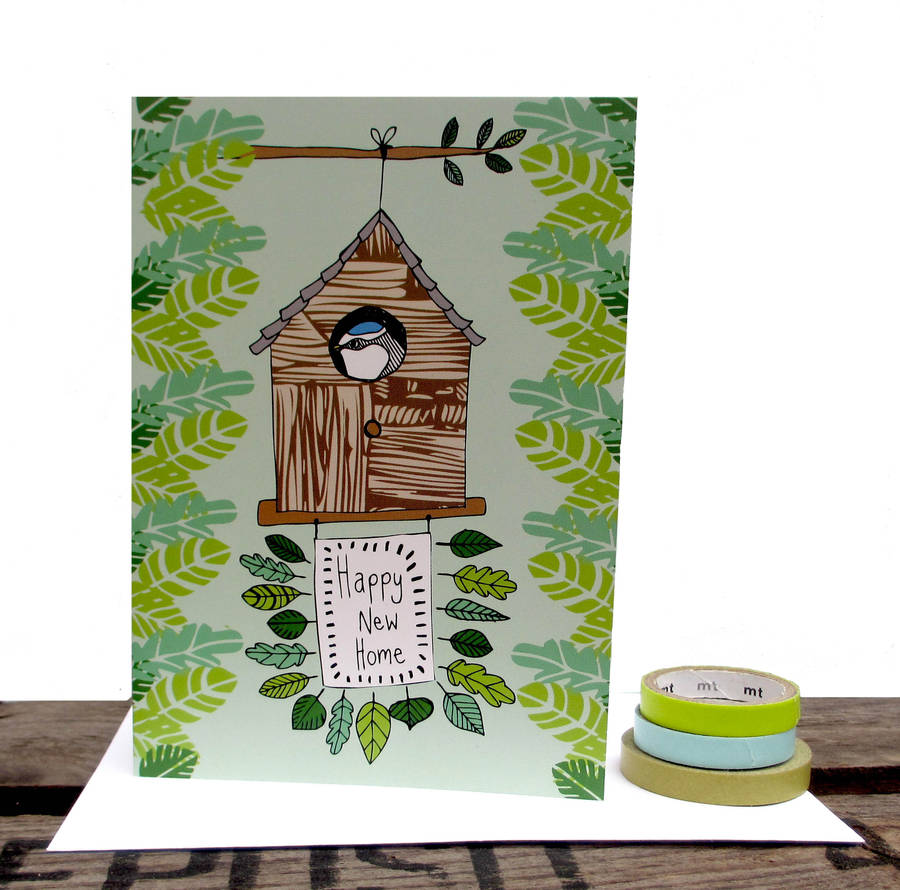 Happy new home greetings card by boodle notonthehighstreet happy new home greetings card kristyandbryce Image collections