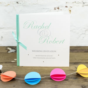 Kensington Wedding Invitation - wedding stationery