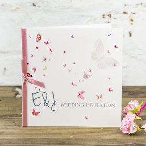 Papillon Wedding Invitation - shop by price