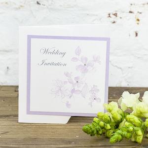 Sienna Wedding Invitation - invitations