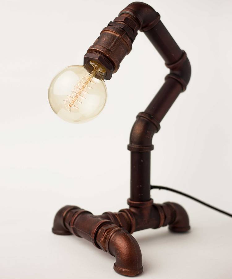 Industrial Pipe Lamp By William Amp Watson