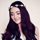 Lilac Rose and Pearl Headband