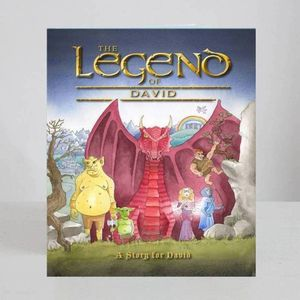 'The Legend Of' Personalised Story Book - gifts under £25