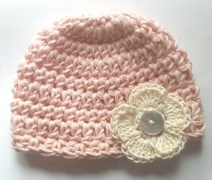 Organic Cotton Baby Beanie - babies' hats