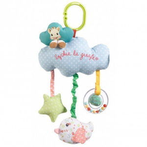 Baby Activity Toy With Music Box And Rattle