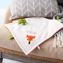 Fox Baby Taggy Comforter