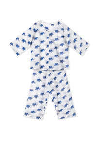 Mini Button Up Boys Pyjamas - nightwear