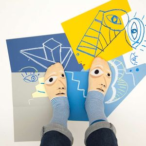 Feetasso Socks For Art Lovers - festive socks
