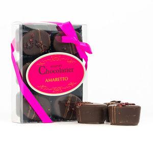 Cherry And Ameretto Dark Chocolate Ovals