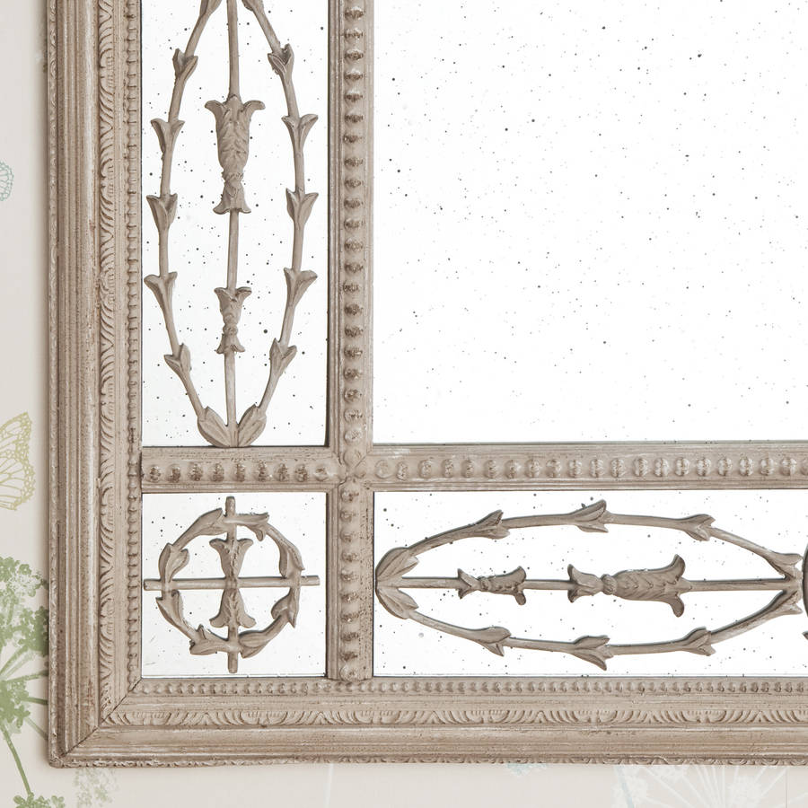 vintage antiqued mirror by decorative mirrors online | notonthehighstreet.com