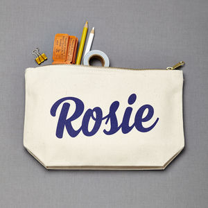 Personalised Colour Make Up Bag - make-up & wash bags