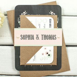 Vintage Wedding Invitations - invitations