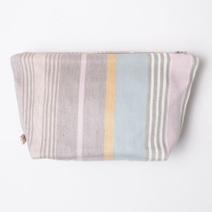 Mistley Stripe Wash Bag