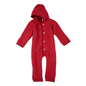 Organic Merino Wool Fleece Snugglesuit