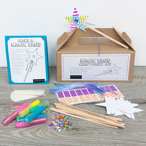 Magic Wand Craft Party Kit