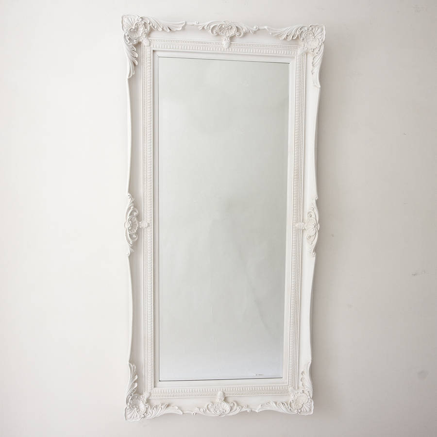 Traditional classic mirror ivory by decorative mirrors for Classic mirror