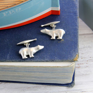 'Polar' Cufflinks - men's accessories