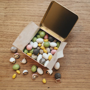 Nutty Forest Artisan Sweets Tin Collection - chocolates & confectionery