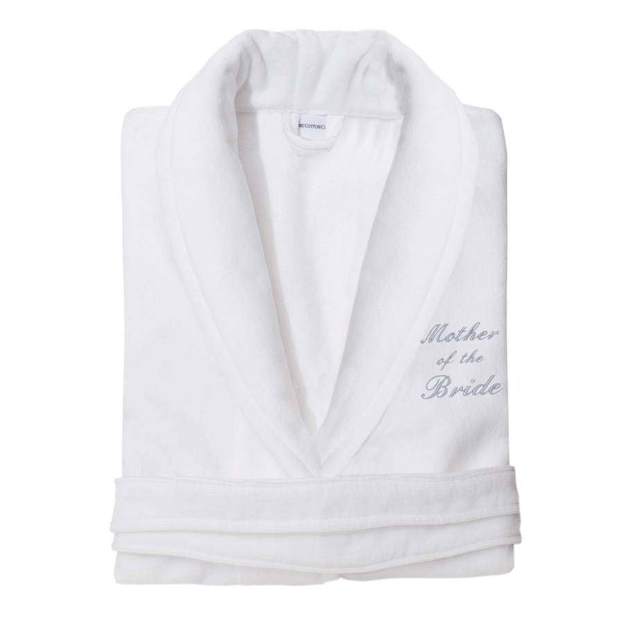 personalised mother of the bride dressing gown from by the fine ...