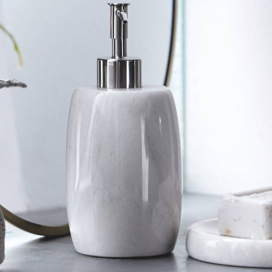 Marble Soap Dispenser By All Things Brighton Beautiful