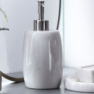 Marble Soap Dispenser - soap dishes & dispensers