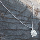 Silver Charm Necklace Love And Support