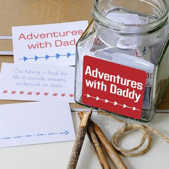 'Adventures With Dad' Jar