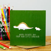 Dinosaur Father's Day Card - cards
