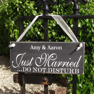 Personalised 'Do Not Disturb' Sign