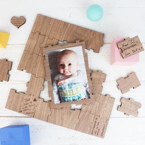 Personalised Advice Special Occasion Puzzle With Photo
