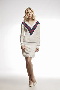 White Cricket Cashmere And Cotton Blend Jumper - jumpers & cardigans