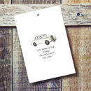 Your Car Personalised Card