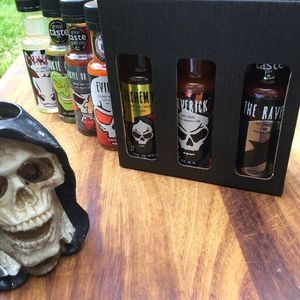 Grim Reaper Chilli Sauce Selection - foodies