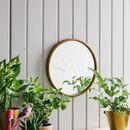 French Circular Mirror