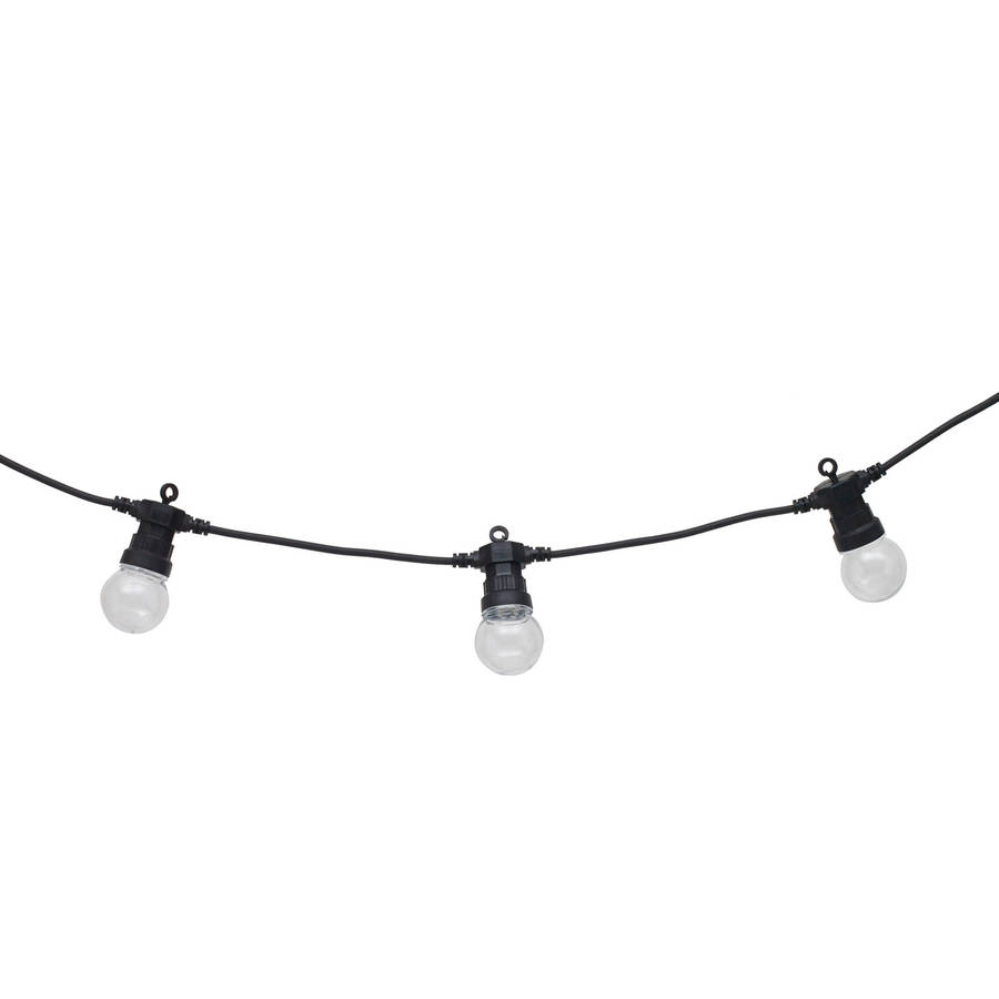 clear bulb connectable festoon lights by lights4fun. Black Bedroom Furniture Sets. Home Design Ideas