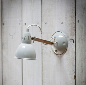 Oak Wall Light - lighting